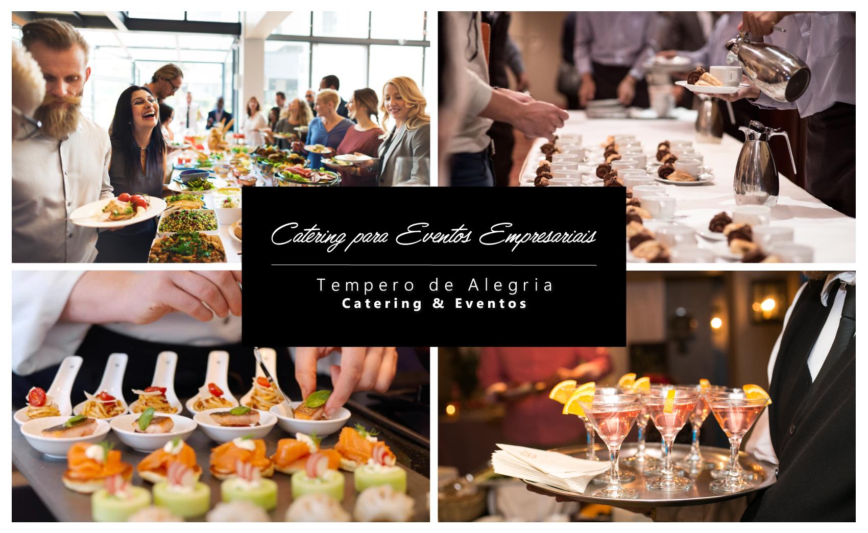 Catering para eventos empresariais